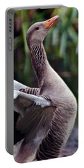 Greylag Goose Poetry Portable Battery Charger