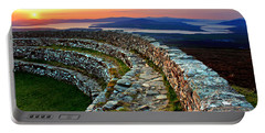 Grianan Fort Sunset Portable Battery Charger