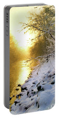 Grings Mill Fog 010 Portable Battery Charger by Scott McAllister