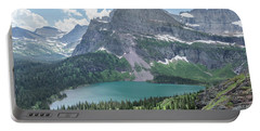 Grinnell Lake From Afar Portable Battery Charger