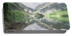 Grinnell Lake Mirrored Portable Battery Charger