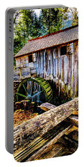 Portable Battery Charger featuring the photograph Gristmill by Norman Hall