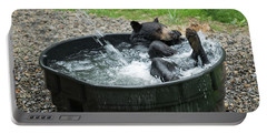 Grizzly Bathing Portable Battery Charger