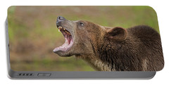 Grizzly Bear Growl Portable Battery Charger