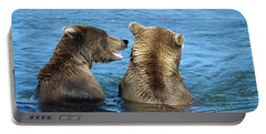 Grizzly Bear Talk Portable Battery Charger