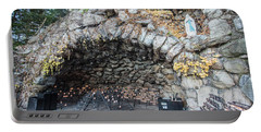 Grotto Of Our Lady Of Lourdes 2 Portable Battery Charger