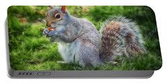 Portable Battery Charger featuring the photograph Ground Squirrel by Pennie  McCracken