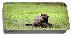 Groundhog Alert Portable Battery Charger