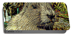 Groundhog Portable Battery Charger by Marvin Blaine