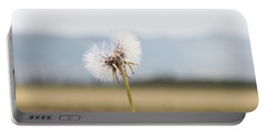 Groundsel In The Wind Portable Battery Charger