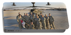 Group Photo Of U.s. Soldiers At Cob Portable Battery Charger