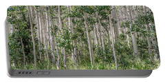 Grove Of Quaking Aspen Aka Quakies Portable Battery Charger
