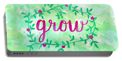 Grow Watercolor Portable Battery Charger