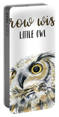 Grow Wise Little Owl Portable Battery Charger