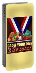 Grow Your Own Victory Garden Portable Battery Charger