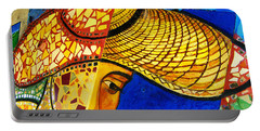 Growing Edgewater Mosaic Portable Battery Charger by Kyle Hanson
