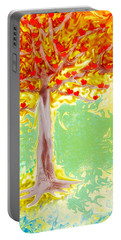Growing Love Portable Battery Charger by Claudia Ellis