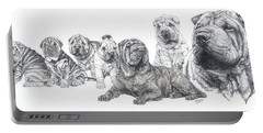 Mister Wrinkles And Family Portable Battery Charger