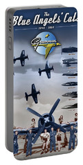 Grumman Blue Angels Cats Portable Battery Charger