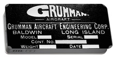 Grumman Product Plate Portable Battery Charger