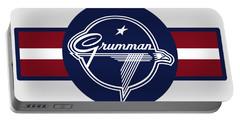 Grumman Stripes Portable Battery Charger
