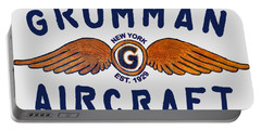 Grumman Wings Blue Portable Battery Charger