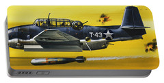 Grummen Tbf1 Avenger Bomber Portable Battery Charger