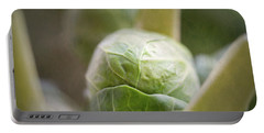 Grumpy Brussel Sprout Portable Battery Charger by Robert FERD Frank