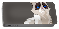 Grumpy Cat Portable Battery Charger by EricaMaxine  Price