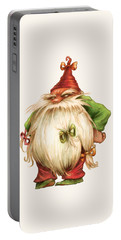 Grumpy Gnome Portable Battery Charger by Andy Catling
