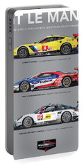 Gt Le Mans Poster Portable Battery Charger