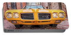 Gto - Pontiac Muscle Portable Battery Charger