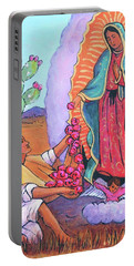 Guadalupe And Juan Diego Portable Battery Charger