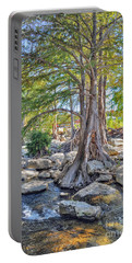Guadalupe River Portable Battery Charger by Savannah Gibbs