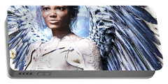 Guardian Angel2 Portable Battery Charger by Suzanne Silvir