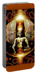 Guardian  Archangel Portable Battery Charger by Hartmut Jager