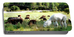 Portable Battery Charger featuring the photograph Guardian by Betsy Zimmerli