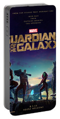 Guardians Of The Galaxy Poster Portable Battery Charger
