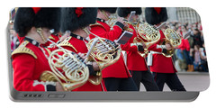 guards band at Buckingham palace Portable Battery Charger