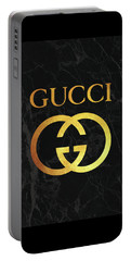 Gucci - Black And Gold - Lifestyle And Fashion Portable Battery Charger