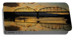Guffey Bridge At Sunset Idaho Journey Landscape Photography By Kaylyn Franks Portable Battery Charger