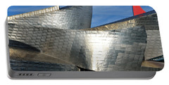 Guggenheim Museum Bilbao - 5 Portable Battery Charger by RicardMN Photography