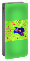 Sound Of Swirls Portable Battery Charger