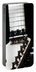 Guitar Neck Portable Battery Charger by Angela Murdock