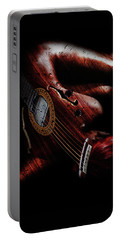 Guitar Woman Portable Battery Charger