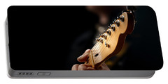 Guitarist Close-up Portable Battery Charger