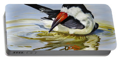 Gulf Coast Black Skimmer Portable Battery Charger by Phyllis Beiser