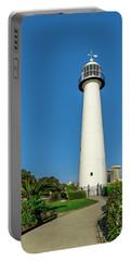 Gulf Coast Lighthouse Seascape Biloxi Ms 3773a Portable Battery Charger
