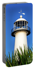 Gulf Coast Lighthouse Seascape Biloxi Ms 3819a Portable Battery Charger
