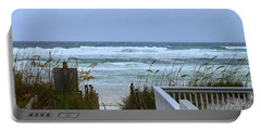 Gulf Coast Waves Portable Battery Charger by Debra Forand